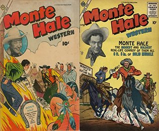 Monte Hale Western. Issues 83 and 84. The biggest and boldest real-life cowboy of them all. 6ft 5in of solid muscle. Golden Age Digital Comics Wild West Western  by  Golden Age Wild West Comics