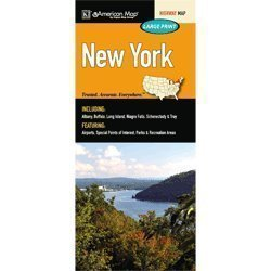 New York State Road Map  by  American Map