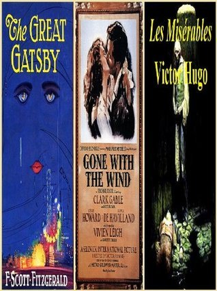 The Great Gatsby, Gone With The Wind, LES MISÉRABLES F. Scott Fitzgerald