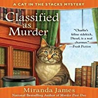 Classified as Murder (Cat in the Stacks, #2)