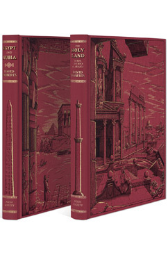 The Holy Land & Egypt and Nubia - Folio Society Limited Edition  by  David    Roberts