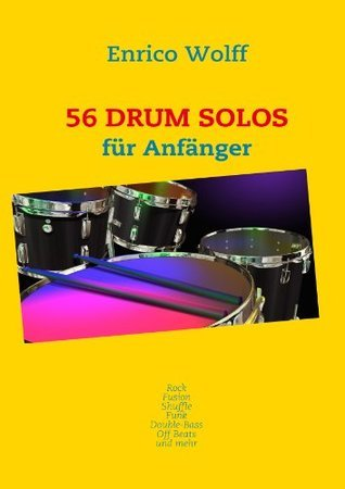 56 Drum Solos  by  Enrico Wolff