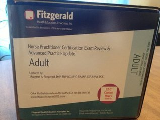 2012 ADULT Nurse Practitioner Review Advanced Practice Update (16 Audio CDs + 246 PG Workbook)  by  Margaret A Fitzgerald