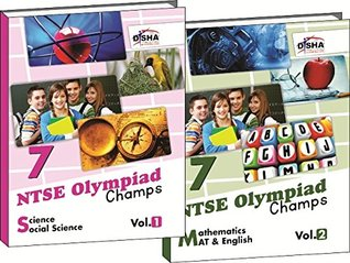 NTSE-NMMS/ OLYMPIADS Champs Class 7 Science/ Social Science/ Maths/ Mental Ability/ English Vol 1 & 2 Disha Experts
