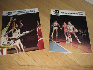1971-72-73 Buffalo Braves NBA Game Programs  by  Various