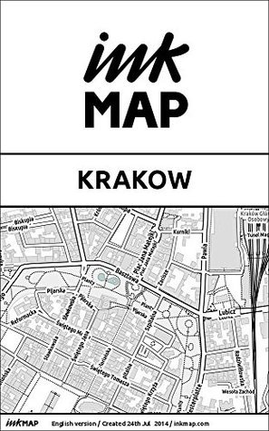 Krakow Inkmap - maps for eReaders, sightseeing, museums, going out, hotels  by  Verlag Inkmap