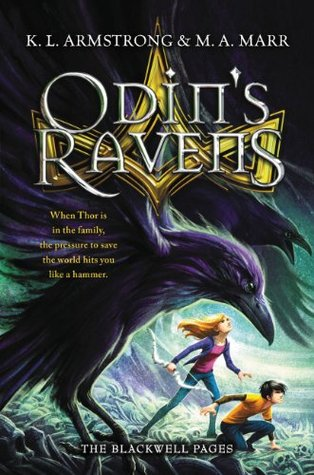 Odins Ravens (The Blackwell Pages Book 2)  by  K.L.  Armstrong