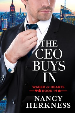 The CEO Buys In (Wager of Hearts, #1) Nancy Herkness