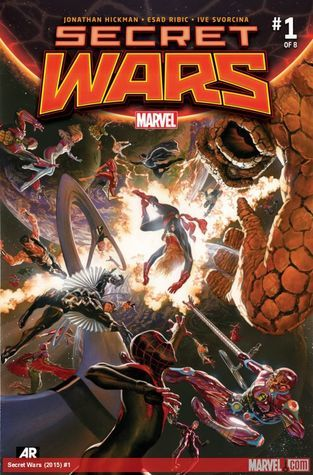 Secret Wars (2015-) #1 (of 8)  by  Jonathan Hickman