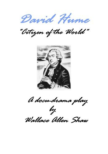 David Hume, Citizen of the World  by  Wally Shaw