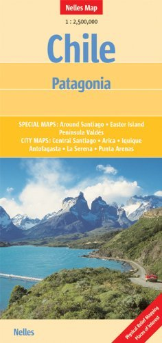 Chile and Patagonia Nelles Map  by  Nelles Verlag