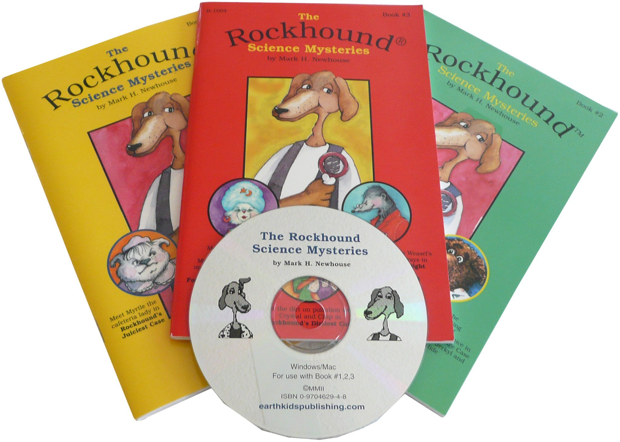 The Rockhound Science Mysteries (Book/CD-ROM Set) (The Rockhound Science Mysteries, #1)  by  Mark H. Newhouse