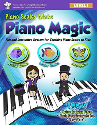 Piano Scales Make Piano Magic: Fun and Innovative System for Teaching Piano Scales to Kids  by  Kristin Jensen