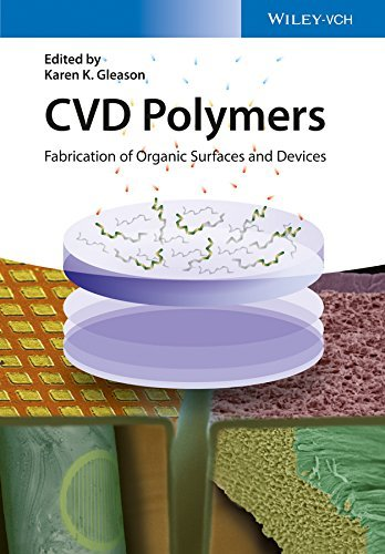 CVD Polymers: Fabrication of Organic Surfaces and Devices  by  Karen K. Gleason