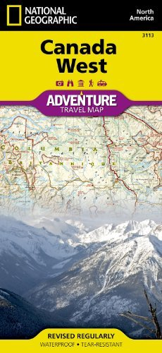 Canada West (National Geographic: Adventure Map)  by  National Geographic Society