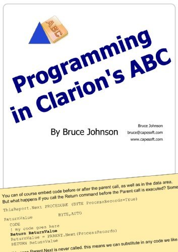 Programming in Clarions ABC Bruce Johnson