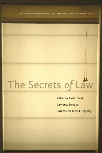 The Secrets of Law (The Amherst Series in Law, Jurisprudence)  by  Austin Sarat