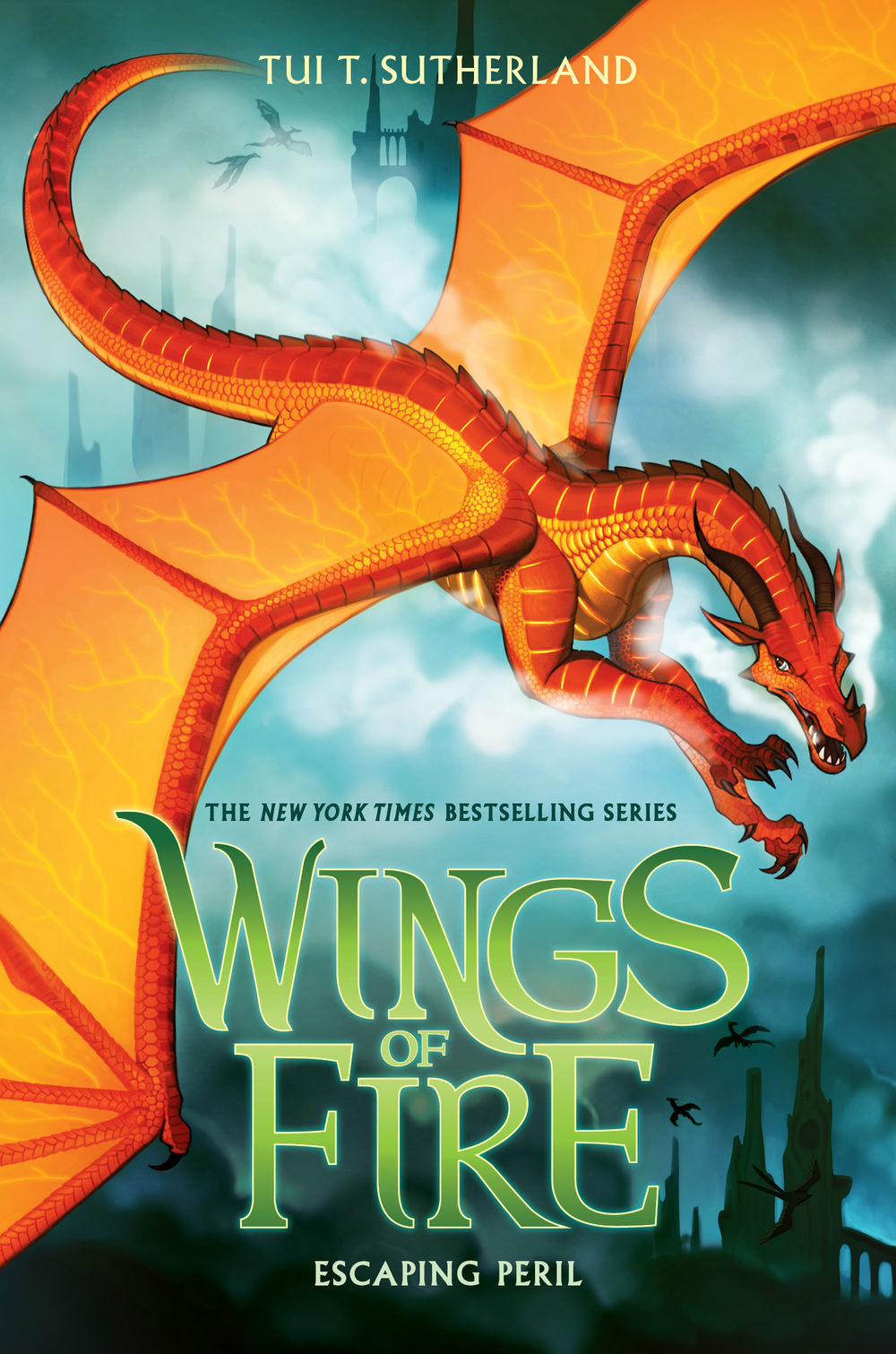 Escaping Peril (Wings of Fire #8)  by  Tui T. Sutherland