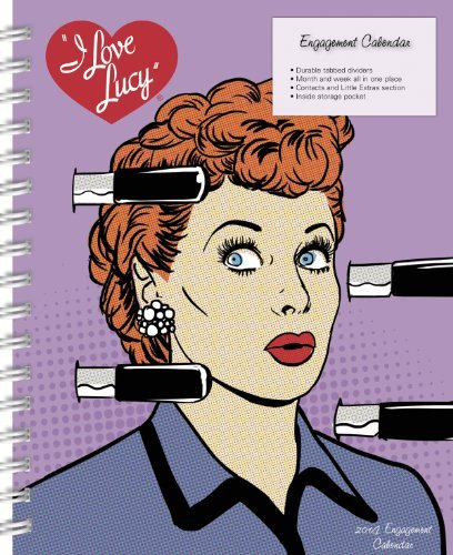 2014 I Love Lucy Weekly Engagement Calendar  by  Unforgetable Enterprises Inc