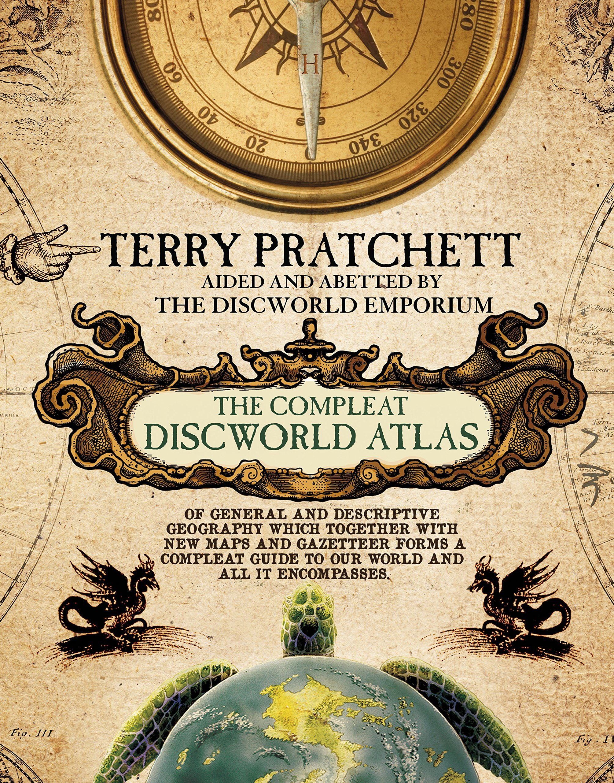 The Compleat Discworld Atlas  by  Terry Pratchett