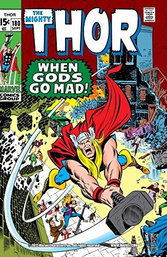 Thor (1966-1996) #180  by  Stan Lee