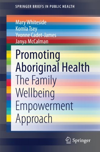 Promoting Aboriginal Health: The Family Wellbeing Empowerment Approach Mary Whiteside