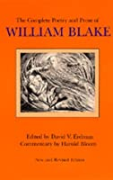 The Complete Poetry and Prose of William Blake, New and Revised edition