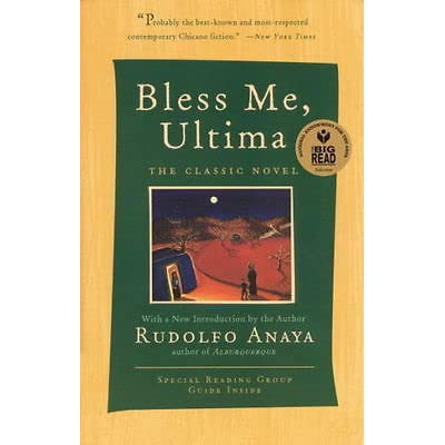 a review of the book bless me ultima by richard anaya