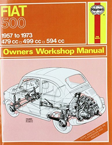 Fiat 500 Owners Workshop Manual  by  John Harold Haynes
