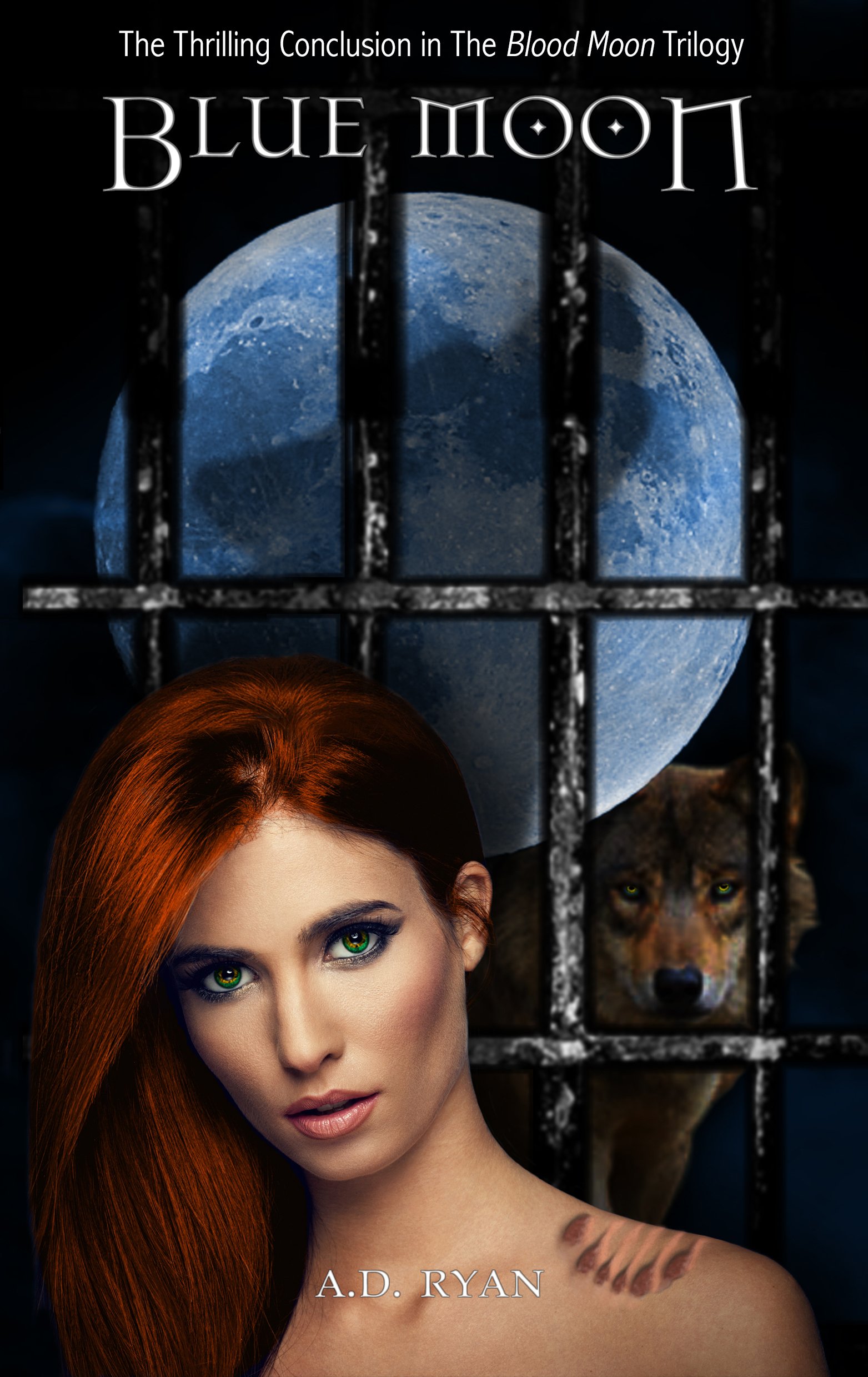 Blue Moon (The Blood Moon Trilogy, #3) A.D. Ryan
