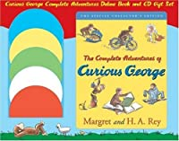 Curious George Complete Adventures Deluxe Book and CD Gift Set