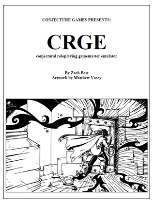 CRGE, Conjectural Roleplaying GM Emulator Zach Best