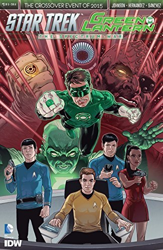 Star Trek/Green Lantern #1 (of 6)  by  Mike Johnson