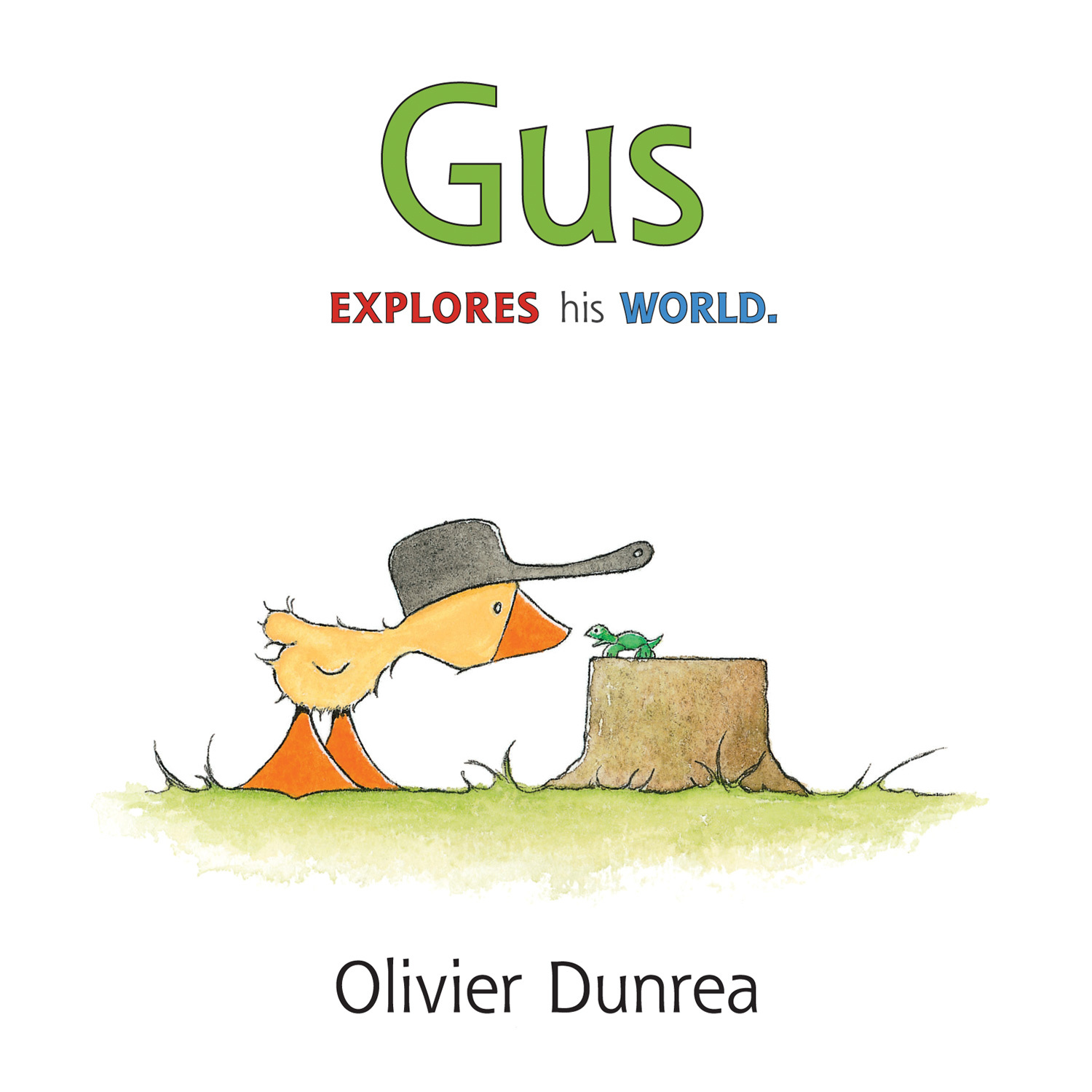 Gus (board book)  by  Olivier Dunrea
