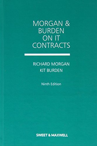 Morgan and Burden on IT Contracts  by  Richard Morgan