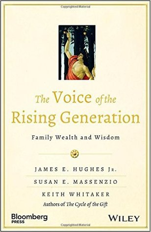 Voice of the Rising Generation James E. Hughes Jr.
