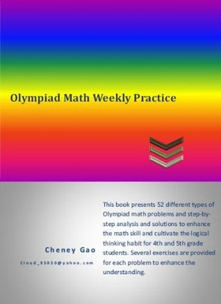 Olympiad Math Weekly Practice  by  Cheney Gao