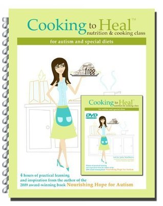 Cooking to Heal  by  Julie Matthews
