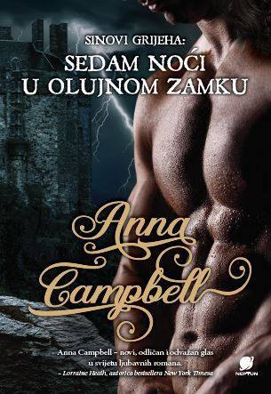 Sedam noći u olujnom zamku (Sons of Sin, #1)  by  Anna Campbell