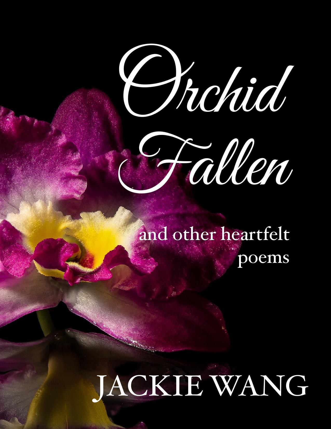 Orchid Fallen  by  Jackie Y. Wang