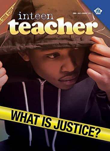 Inteen Teacher: What is Justice?  by  Dr. Melvin E. Banks
