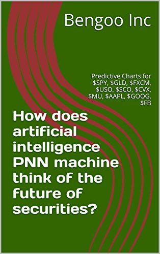 How does artificial intelligence PNN machine think of the future of securities?: Predictive Charts for $SPY, $GLD, $FXCM, $USO, $SCO, $CVX, $MU, $AAPL, $GOOG, $FB (PNN Charts Book 1)  by  Bengoo Inc