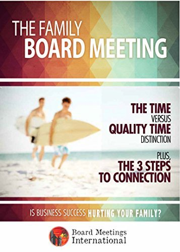 The Family Board Meeting: Is Business Success Hurting Your Family?  by  Jim Sheils