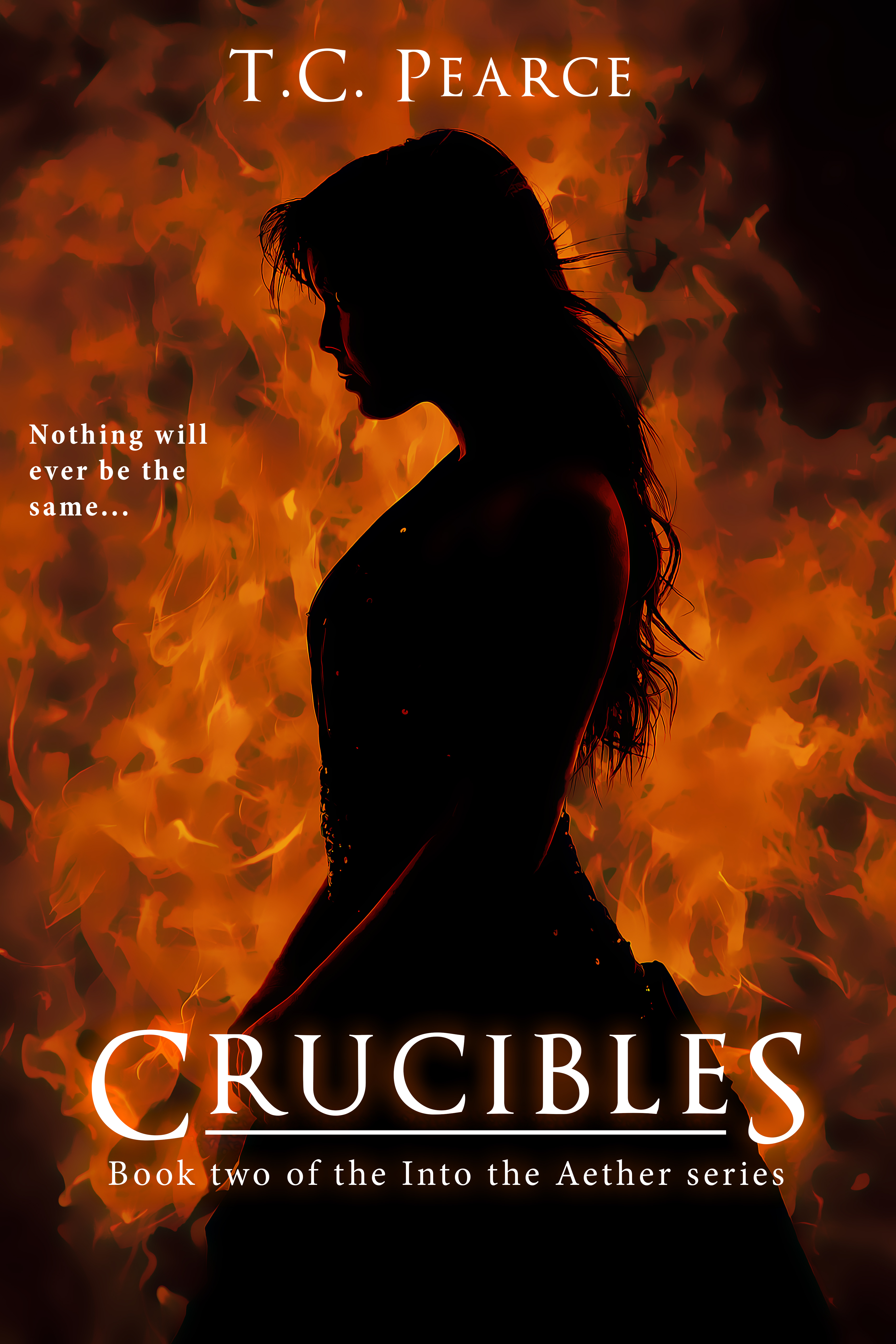 Crucibles - Book two of the Into the Aether series T.C.  Pearce