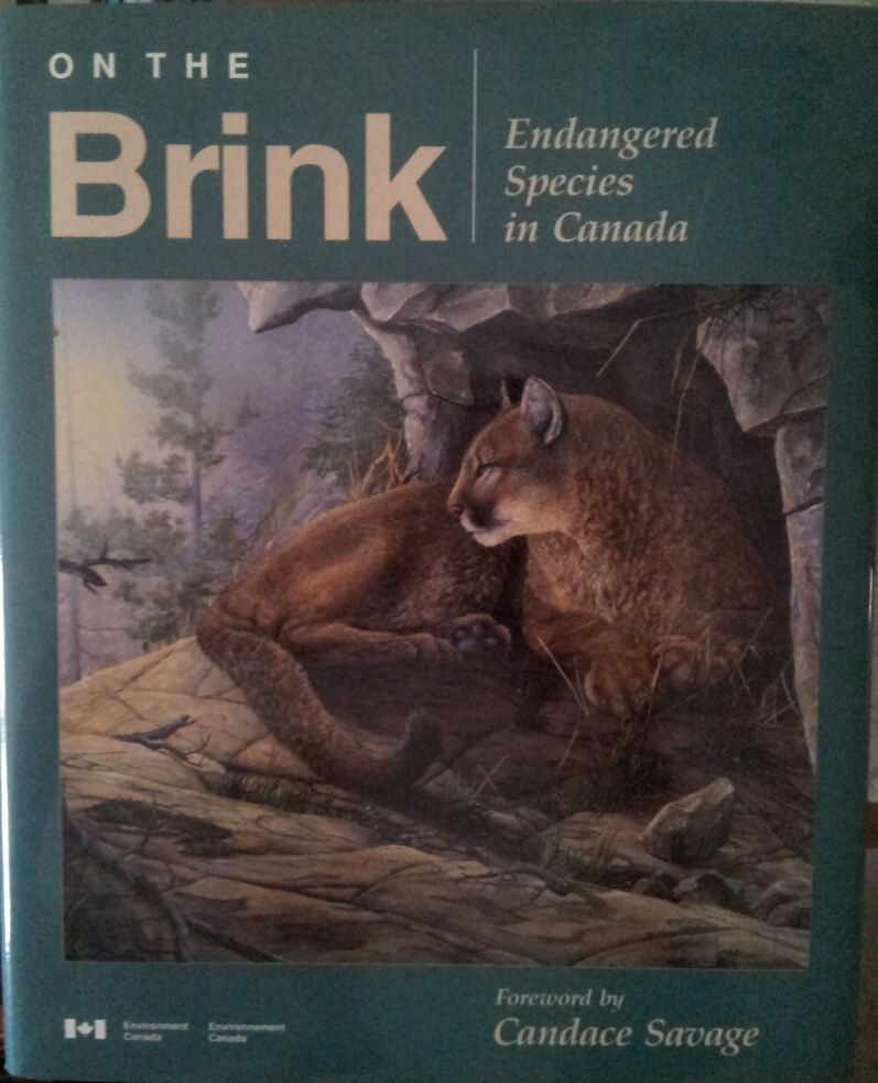 On The Brink: Endangered Species In Canada  by  J.A. Burnett