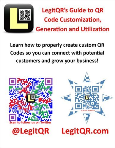 LegitQRs Guide to QR Code Customization, Generation and Utilization LegitQR .com
