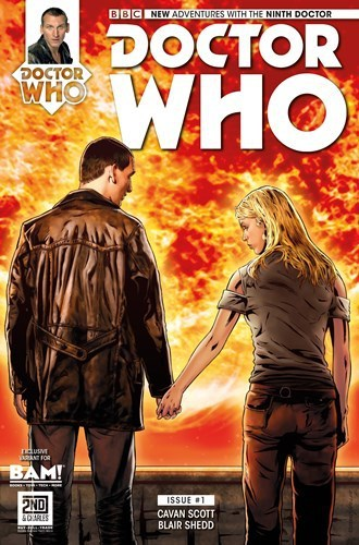 Doctor Who: The Ninth Doctor #1  by  Cavan Scott