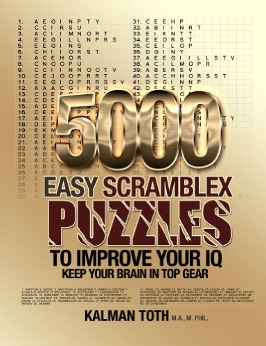 5000 Easy Scramblex Puzzles to Improve Your IQ  by  Kalman Toth