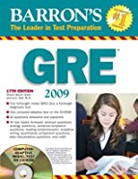 Barron's GRE 2008 with CD-ROM (Barron's How to Prepare for the Gre Graduate Record Examination)