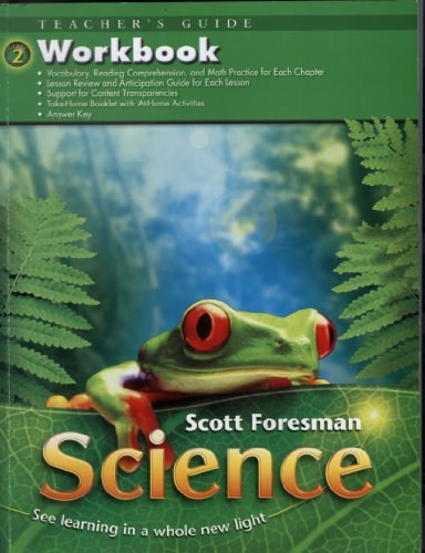SCIENCE GRADE 2 WORKBOOK TEACHERS GUIDE  by  Cummins, Flood, Foots, Goldston, Key, others Cooney